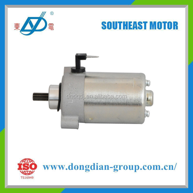 Best quality starter motor OEM factory for Suzuki, Piaggio motocycle