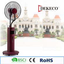 Indoor air cooler fan with water tank 2.5L electrical mist stand fan