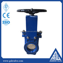 industry bi-directional cast iron knife gate valve