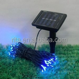 Christmas Solar star type LED String Lights;200 LEDs;22m long; red/green/Blue/warm White/cool white/ RGB colors available