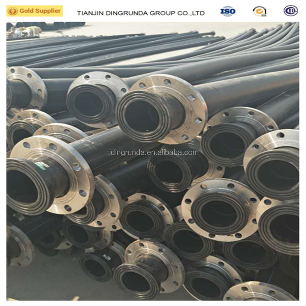 hdpe dredging pipe SDR 26 110mm dredging waterway