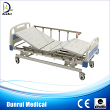 DR-G839-1 FDA/CE/ISO Marked Manual Three Functions Hospital Bed Adjustable Bed Rails Bed