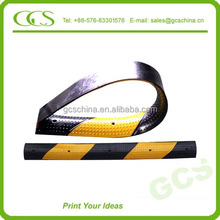 cable stayed bridge road breaker rubber plastic speed bump