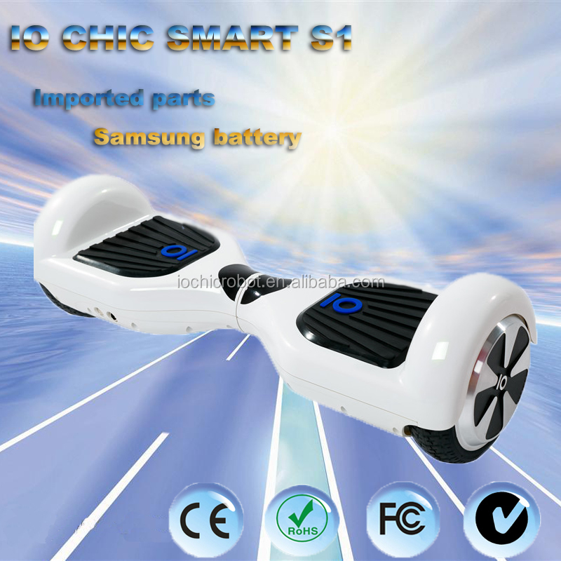IO Chic Smart Outdoor Sports 2 Wheel Custom Hoverboard Skateboard Wheel Motor