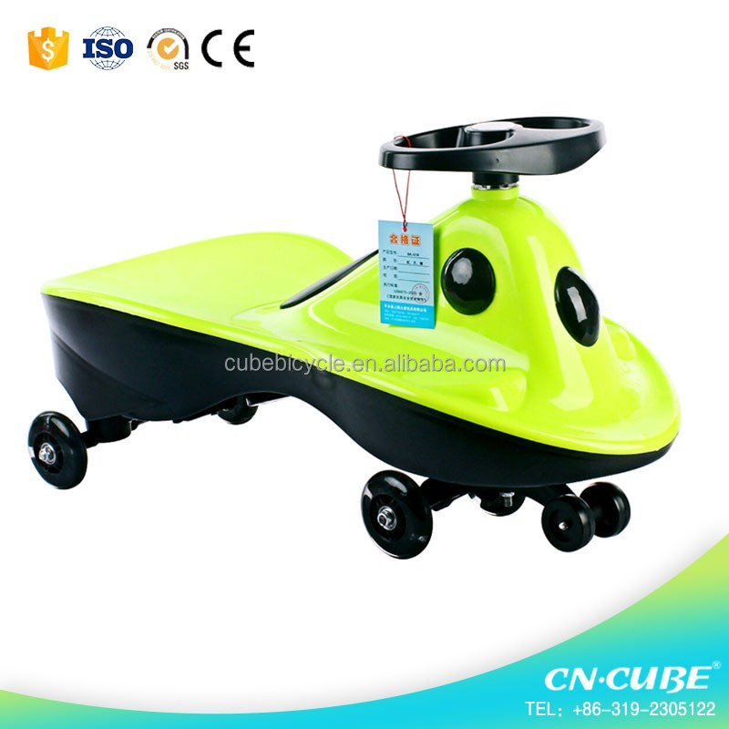 High quality factory price new model children swing car / kids wiggle car for children