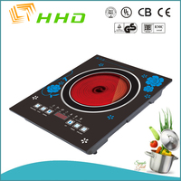 New Timer & Lock functions Ceramic Plate Electric Induction Cooker ,and infrared heating element stove