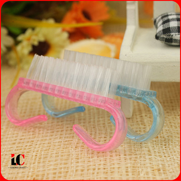 Nail powder brush,acrylic nail cleaning polish brush for cleaning dust