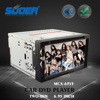 Car MP5 Player 2 Din Car GPS Radio TV Player Car DVD Player with Bluetooth