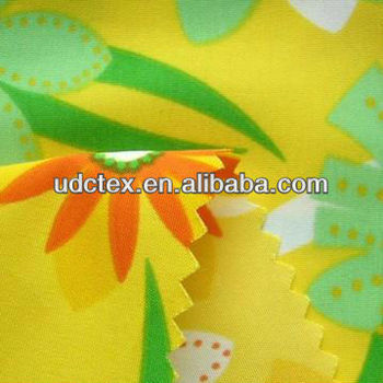 Polyester peach skin beachwear fabric