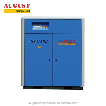 SFC18.5A 18.5KW/25HP 7 bar stationary air cooled small silent air compressor for sale