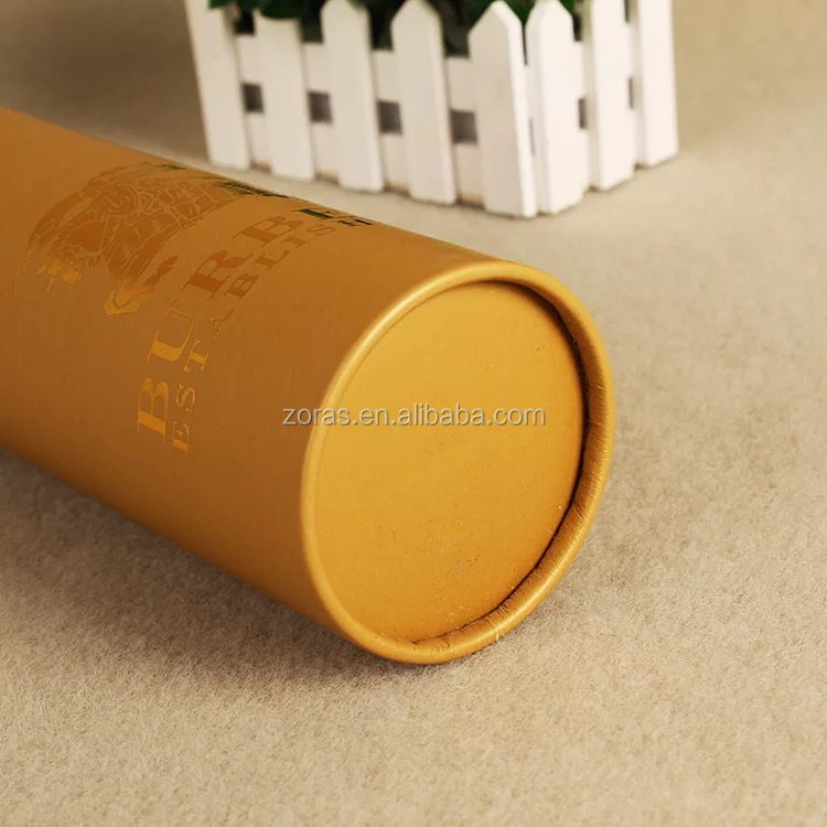 ZORAS Kraft Paper Tube Packaging for Candle & Chips