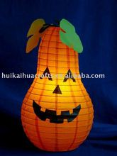 Pumpkin shape paper table lamp for home decor