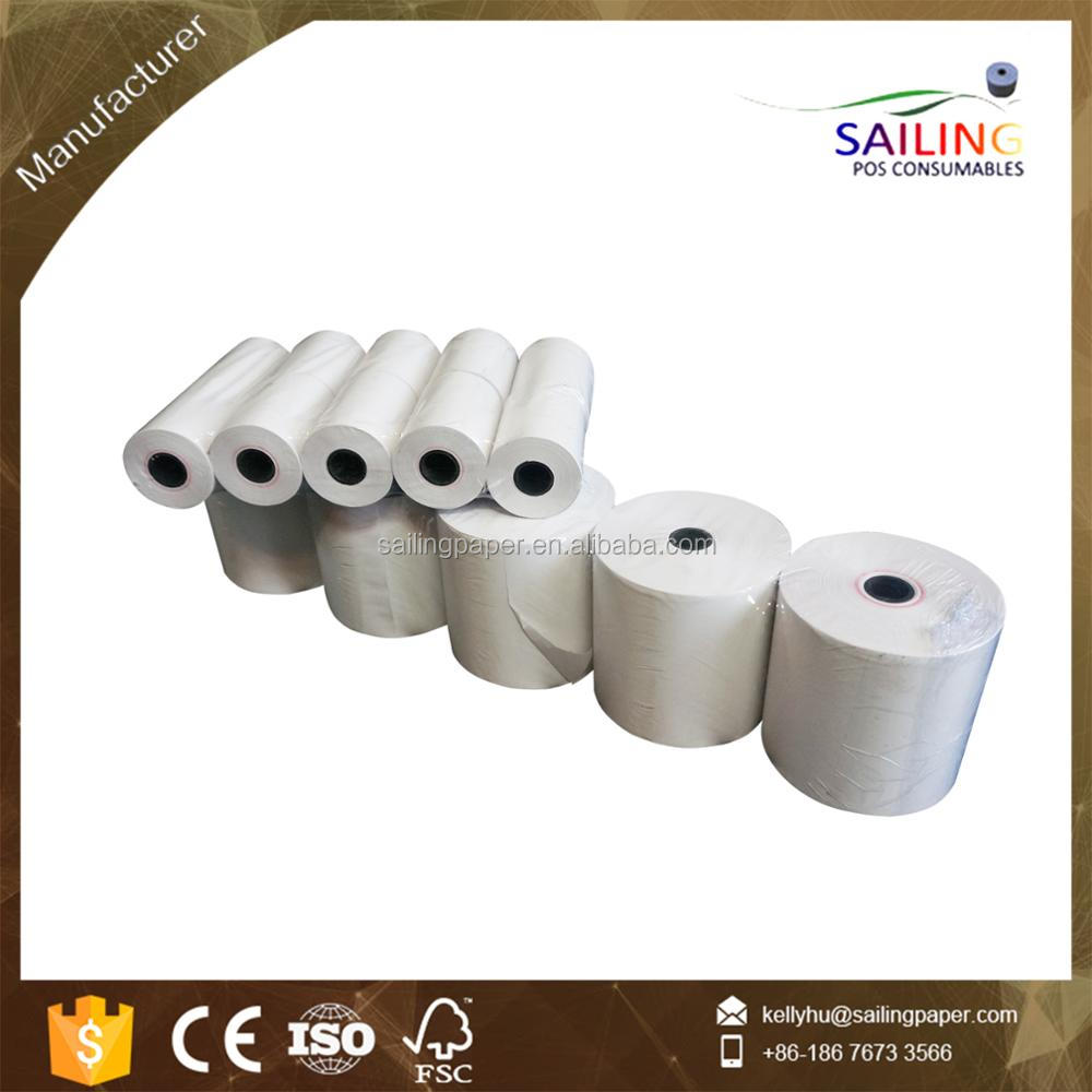 57*50mm pos thermal paper roll for cash register