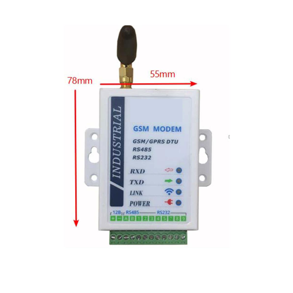 RS485 RS232 SIGNAL CONVERTER GPRS GSM DTU WIRELESS DATA TRANSMISSION SERIAL PORT <strong>MODULE</strong>