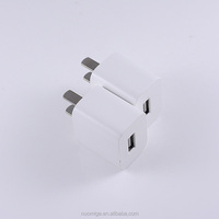 5v 1a usb for iphone charger adapter white portable usb wall charger