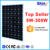 High efficiency factory low price 200W mono solar panel with TUV/CE/IEC/UL certificate