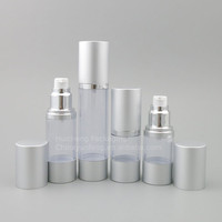 New Design 20 ml empty lotion airless plastic pump bottle with good quality