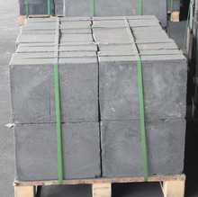 Injection molded graphite block