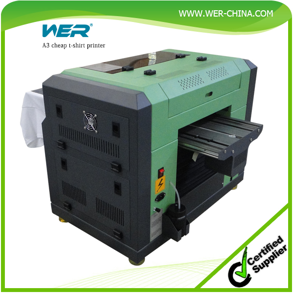 easy control A3 WER E2000T direct to garment printer with dx5 head, dtg printing