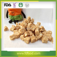 Natural Freeze Dried Chicken Cubes, Slices