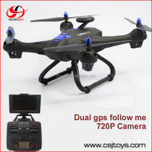 Toys &amp hobbies rc helicopter FPV Follow me quadcopter 4ch gyro Dron with hd camera GPS