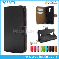 Hot Sale Magentic PU Leather Wallet Stand Flip Case For Asus Zenfone 3 Max ZC520TL