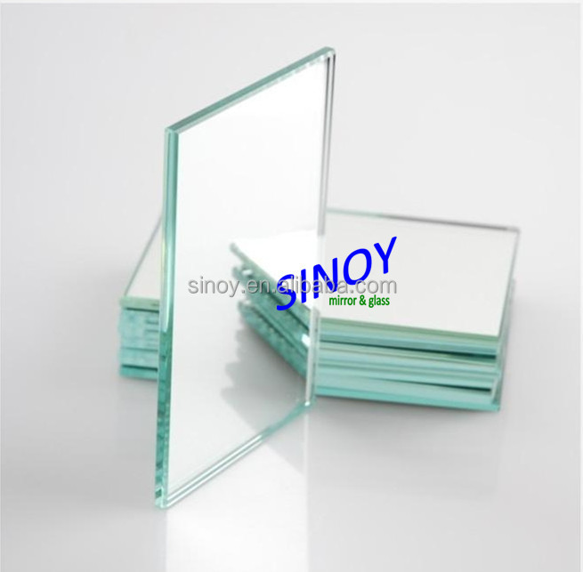 Best Price 2mm to 6mm Clear Silver Mirror Glass double coated with FENZI paints for bathroom, furniture, decorative applications