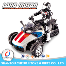 1:8 exciting 4D remote control land rc nitro motorcycle with light