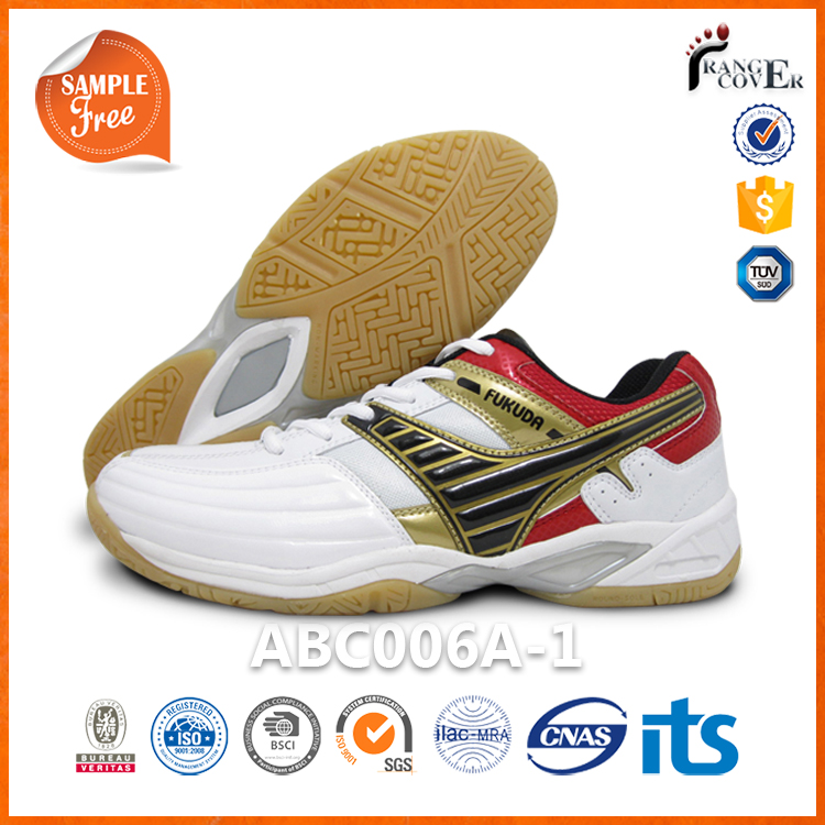 2016 Non Marking Base Cotton Lining Junior Badminton Training Shoes