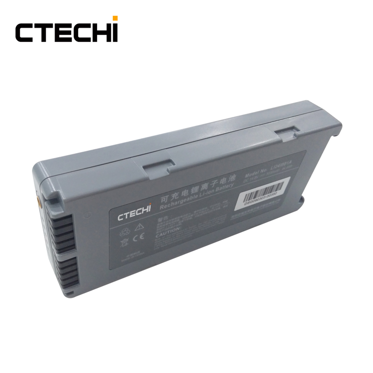D3 defibrillator replacement battery 3000mAh high capacity li ion 14.8v