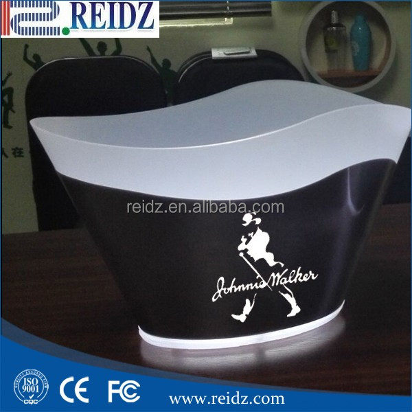 2017 Alibaba Led stainless steel corana ice bucket