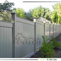 New Design High Quality Plastic Decorative Garden Fence