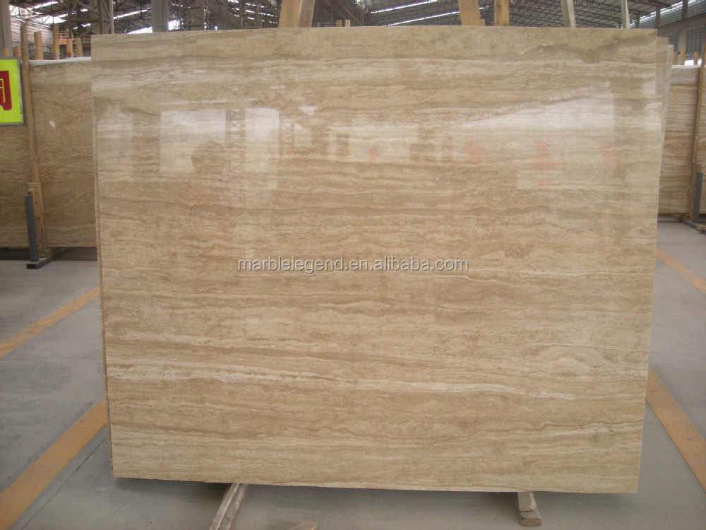High Grade Polished Marble Original Beige Marble Travertine