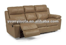 American style leather Living Room Furniture Sofa home furniture YR1204