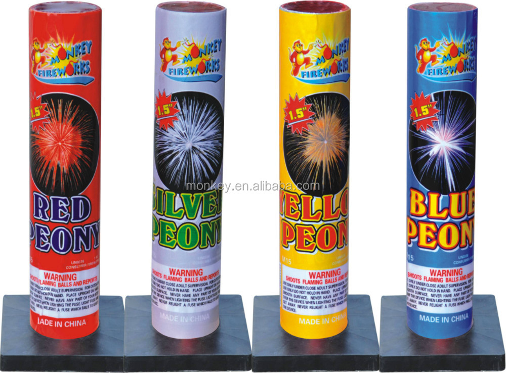 Hot product Artillery Shell 1.5'' Peony fireworks