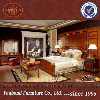 0029 High Quality Italian Classic Bedroom Set Furniture, Royal Luxury Hotel  Furniture