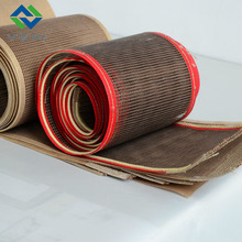 conveyor belt of open mesh fabric 4*4mm mesh size fiberglass coated ptfe
