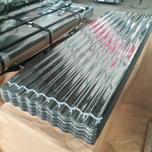 ISO clear zinc corrugated roofing sheets , 30 gauge galvanized steel sheet