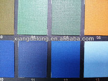 PU Color Change leather for Book Binding