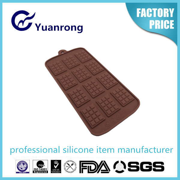 2015 Wholesaler Chocolate Mold with FDA/LFGB Standard Silicone Material