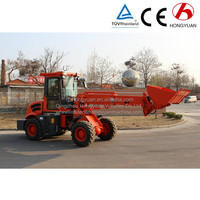 2016 new machine electric wheel loader extend loader with telescopic arm