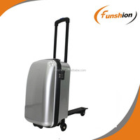 travelling bags with trolley, design your own suitcase scooter, travel bag for sale