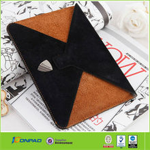 geniue top quality of leather case in envelop style for ipad min in colorful