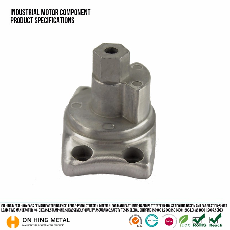 Fabrication Aluminum Zinc die cast auto motor engine parts for toyota