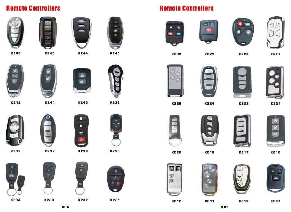 Clone Duplicate Universal Remote Control Car Open Door