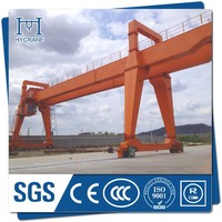 Mobile cable operated gantry crane with cast steel wheel for sale