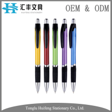 HF5278B 2017 custom color biros for writing notebook office metal pen