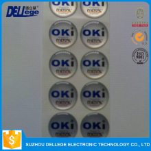 Dellege Super Quality Useful Special Roll Packing Sticker Label Printing