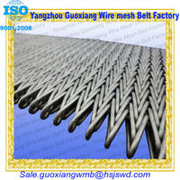 high quality stainless steel furnace conveyor belting