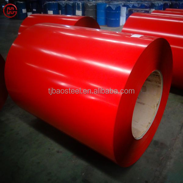 0.8mm 80g/m2 PPGI/PPGL with stock price from Baosteel